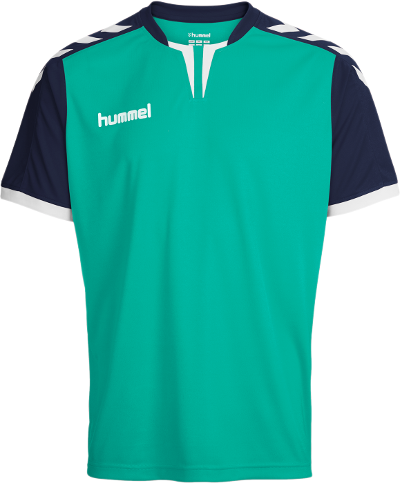 Hummel Herren Trikot Core Short Sleeve Poly Jersey 03-636-8621 S Atlantis//Marine